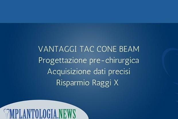 Vantaggi Tac Cone Beam