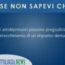 antidepressivi e impianti dentali