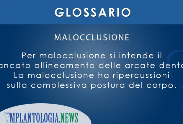 malocclusione